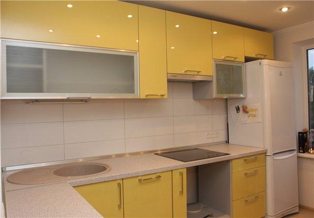 Кухни 9 кв метров дизайн реальные 310